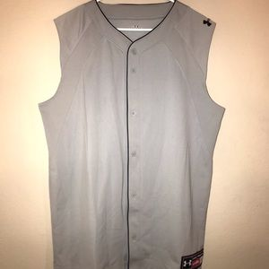 Men's Under Armour Button Down Baseball Jersey